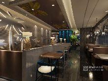 餐厅室内设计效果图